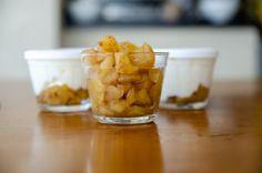 Compota de maçã para o café da manhã - Ariana Pazzini Pudding, Desserts, Food, No Churn Ice Cream, Homemade Applesauce, Diet Desserts, Apple Candy, Homemade Yogurt, Cinnamon Tea