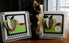 Teacher CASED Apple by Darla Ryan - Cards and Paper Crafts at Splitcoaststampers