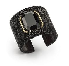 cuff with gold accent