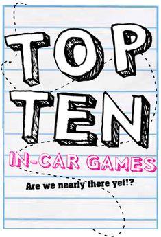 Top 10 In-Car Games