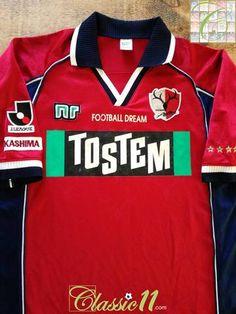 a17b6f1ee61 2000 Kashima Antlers Home J.League Football Shirt (L)