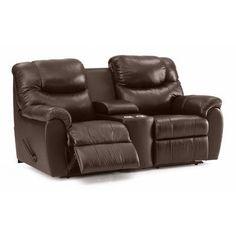 Palliser Furniture Regent Reclining Loveseat Upholstery: All Leather Protected - Tulsa II Sand, Type: Manual
