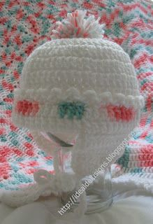 FREE SIZE CHART FOR HATS ~ Ideal Delusions: How To Estimate Size For Crochet Hats