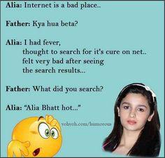 Alia Bhatt Vs His Father.