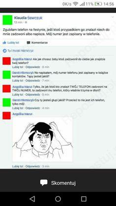 Funny Me, Wtf Funny, Polish Memes, Haha, Jokes, Humor, Husky Jokes, Ha Ha, Humour