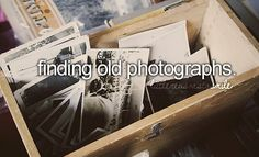 finding old photographs