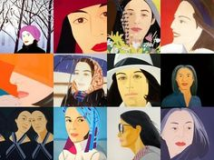 "Alex Katz ""Ada collages"""