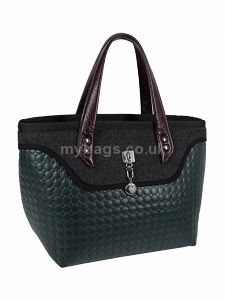 GOSHICO Tote bag with leather handles SOTE http://mybags.co.uk/goshico-tote-bag-with-leather-handles-sote-1825.html