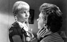 """Patty McCormack in """"The Bad Seed"""""""