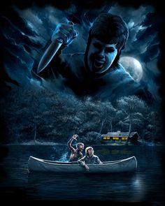 art horror Halloween 80's jason voorhees Sam Horror Movies freddy ...