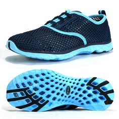 dea24fb380 Aleader Women s Quick Drying Aqua Water Shoes Travel Shoes