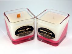 Endless Love Valentines Day Candle - romantic decorative scented candle perfect gift for valentines day