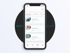Music App Interaction by Dannniel