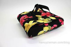 Nancy Zieman shares how to Sew an easy Casserole Carrier ideal for taking your hot dish to a potluck dinner or picnic.