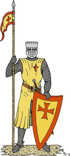 SOLD 7/7/2017 through Redbubble to a customer in the US: 1x Sticker of Crusader Knight, Early 13th Century. #Redbubble #sold #sticker #knight #medieval_knight #crusader_knight #crusader