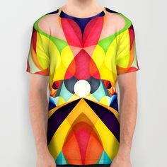 Poetry Geometry All Over Print Shirt