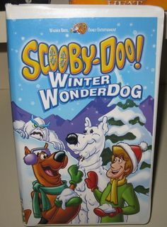 Scooby-Doo - Winter Wonderdog 2002, Clam Shell) NEW SEALED