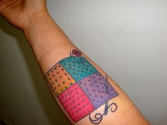 Will Koffman Tattoo: Patchwork Hearts | tattoo????? | Pinterest ... : quilt heart tattoo - Adamdwight.com