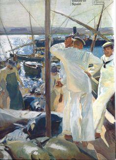 Swear Like a Sailor Spanish Painters, Spanish Artists, Claude Monet, Figure Painting, Painting & Drawing, Valencia, Manet, Fine Art, Renoir