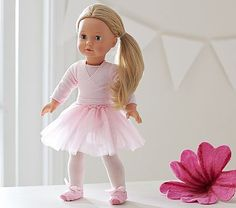 Ballerina Doll Outfit #pbkids