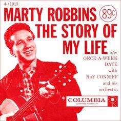 Marty Robbins Wife and Family | Marizona Robbins Biography