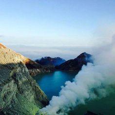 Instagram of the day: Ijen Volcano, East Java, #Indonesia #MeetTheWorld (photo cred: Bertrand Balacey) http://ift.tt/1Guah92