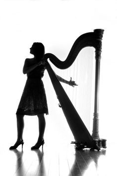 this reminds me of myself :) heels and harp.