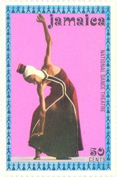 """Jamaica - Dancer in the """"Misa Criolla"""" folk mass"""