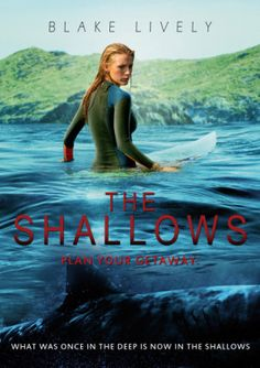 The premise of THE SHALLOWS is about as simple as you can get: Blake Lively plays a surfer who's attacked by a shark off an isolated Me. Good Movies To Watch, All Movies, Action Movies, Horror Movies, Movies Online, Movie Blog, I Movie, The Shallows Movie, Orphan Movie