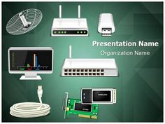 24 Best Networking Powerpoint Presentation Templates Images