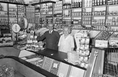 groenteboer Meijer in de Walstraat, Vlissingen - 1970