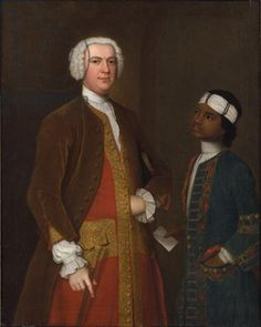 Portrait of a Gentleman with a Young Servant, possibly Sir George Thomas Bt by Charles Philips Goldscheider, Black History, Art History, Victorian Paintings, Caribbean Culture, Renaissance Era, Bronze, Popular Art, African Diaspora
