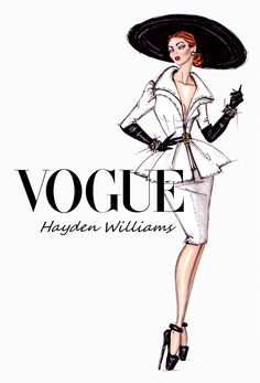 These are fun to comb through! Hayden Williams Fashion Illustrations: 'Suits Her Well' by Hayden Williams