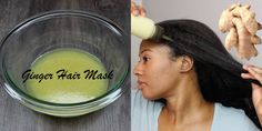 How To Make A Ginger Root Hair Mask For Extreme Hair Growth - http://blackhairinformation.com/growth/hair-growth/make-ginger-root-hair-mask-extreme-hair-growth/