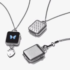Bucardo #AppleWatch accessories all you to dress up your Apple Watch: charm Necklaces, Lockets and Pocketwatches available at bucardo.com