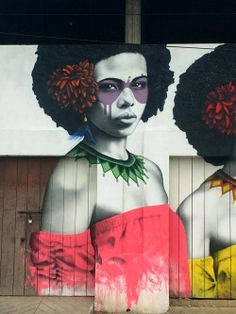 "findac: "" 'Las Tres Guerreras' - at Quintal Distrito Gourmet in Getsemani, Cartagena. Many thanks to my friends at This Is Cartagena, Isabela Restrepo and Sophia Hotel for all their help in organising this project """