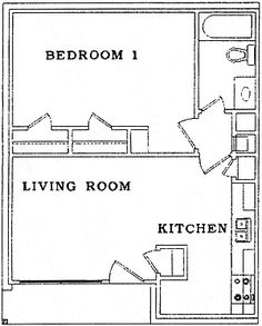 500 Sq FT Studio Apartment | one bedroom 550 sq ft two bedroom 750 ...