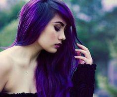 #purplehair #deeppurple #longhair