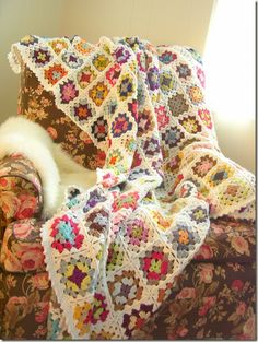 Attic Dormitory Blanket by Kristen at Cozy Things