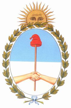 🌍 Argentina:✓Motto ✓National Animal ✓National Flower and Gaucho, Argentina Map, Southern Cone, Drake Passage, Map Tattoos, National Animal, How To Speak Spanish, Crests, Flowering Trees
