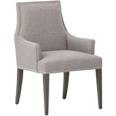 7) Oliver Arm Chair in Durango Slate, $549 + 10% off