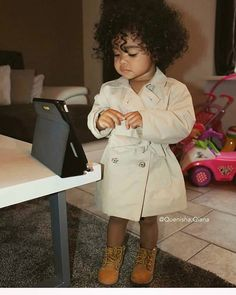 Best of kids fashion Cute Mixed Babies, Cute Black Babies, Beautiful Black Babies, Cute Babies, Black Baby Girls, Black Kids, Baby Outfits, Outfits Niños, Kids Outfits