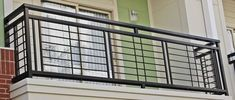 nice and simplistic iron balcony. Each balcony railing is made with nothing less than high quality material. nice and simplistic iron balcony. Each balcony railing is made with nothing less than high quality material. Window Grill Design Modern, Balcony Grill Design, Grill Door Design, Balcony Railing Design, Door Gate Design, House Gate Design, Window Design, Iron Stair Railing, Stair Handrail
