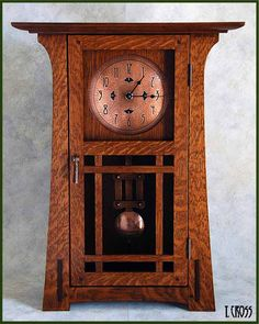 Wood Mission Style Mantel Clock Plans Pdf Plans