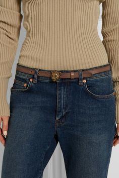 Gucci   Leather belt   NET-A-PORTER.COM