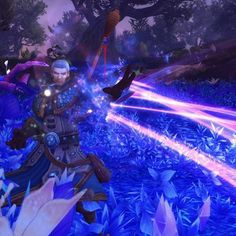 Archmage Khadgar bein' a badass.  #wowlegion #Warcraft #wow #Mage #Khadgar #gaming #screenshot