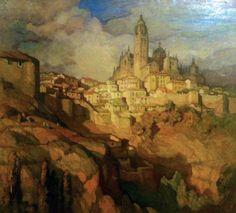Gustavo Bacarisas Podestá Master Art, Painters, 19th Century, Scenery