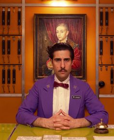The Many Mustaches of The Grand Budapest Hotel: Jason Schwartzman as M. Jean