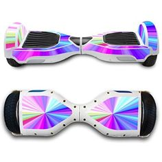 GameXcel ® Hover Board Balancing Scooter Hoverboard Skin Sticker - Real HoverBoards Protective Cover Decal - Bluetooth Hover Boards Vinyl Case Two-Wheeled Balancing Scooters Stickers Stars