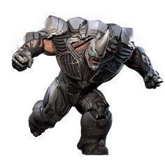 Aleksei Sytsevich, also known by his alias Rhino, is an antagonist in Marvel's Spider-Man. Marvel Comic Character, Marvel Characters, Rhino Spiderman, Sean Parker, Spider Man Series, Marvel E Dc, Marvel Villains, Superhero Design, Spider Verse